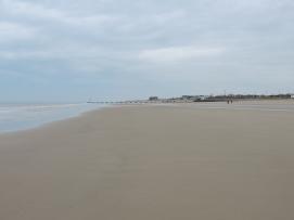 Vast beach