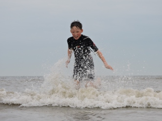 Splashing About