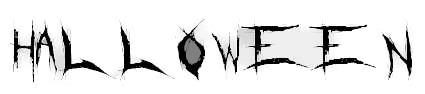 halloween lettering copy