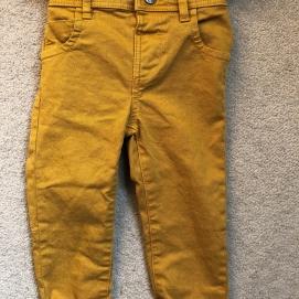 Next Mustard Skinny Jeans