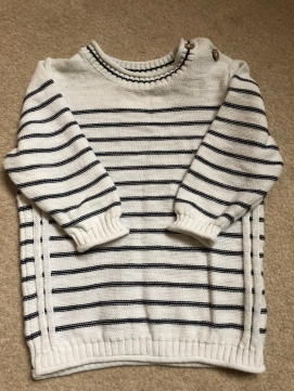 NEXT Sailor stripe Jumper