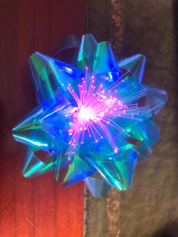 Fibre optic bow