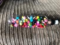 Wooden Beads Bottle