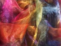 Shimmer Rainbow Fabric