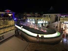 Musical Fountain display